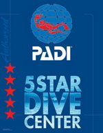 padi 5 star dive center cebu philippines